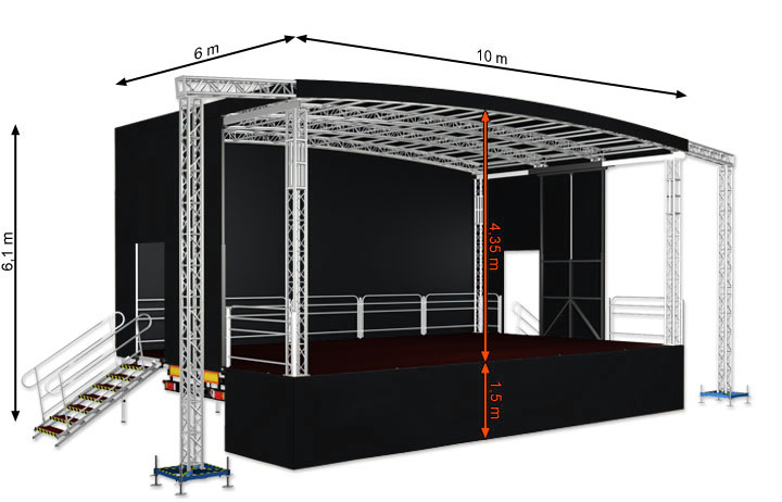 AE Sound Mobile Stage