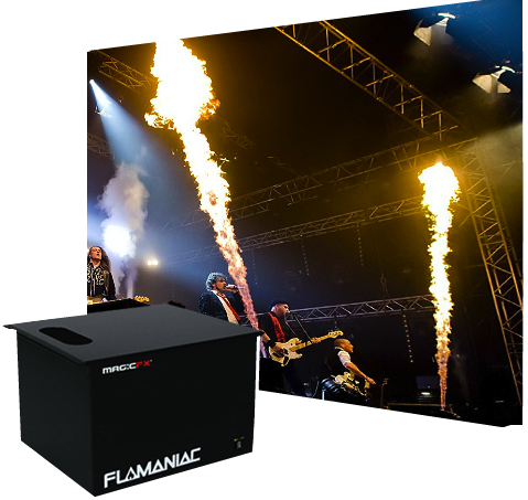 Flamaniac Stage Flame